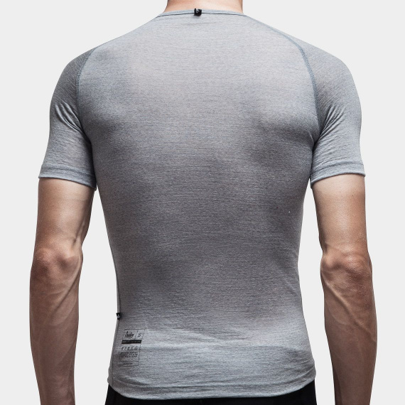 100% Merino SS Baselayer Grey