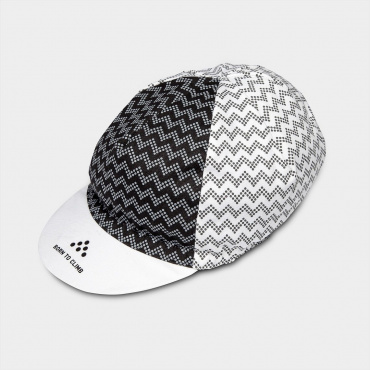 Climber's Cap Black/White - Available end of July
