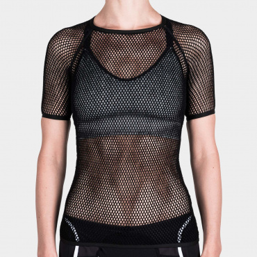 Damen Merino Light SS Baselayer Black