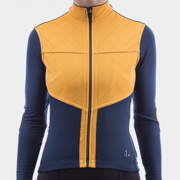 Long Sleeve Shield Jersey Midnight Navy 2.0