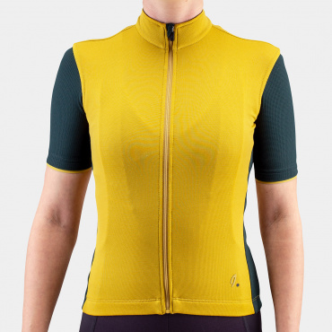 Signature Cycling Jersey Olive Oil/Jet Set 2.0