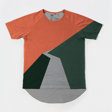 Isadore x Kompot Ventoux Orange SS T-shirt